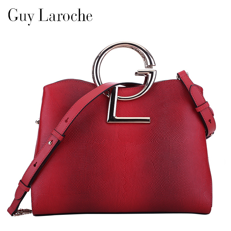 Guy Laroche Female Bags Autumn And Winter Genuine Leather Handbag Bag Fashion Women S Messenger In Clutches From Luggage On
