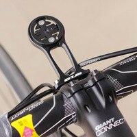 Extensão da haste da bicicleta suporte de montagem do computador gps para garmin edge 1000 820 500 bryton r530 530e r330 330e r310 310e|bike bike|bracket gps|bracket mount -