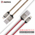 Calidad original remax usb cables de sincronización de datos para iphone 6 cable 6 s 7 más 5 5S sí ipad pro mini air 2 cargador rápido alambre