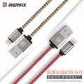 Calidad original remax usb cables de sincronización de datos para iphone 6 cable 6 s 7 más 5 5S sí ipad pro mini air 2 cargador rápido alambre