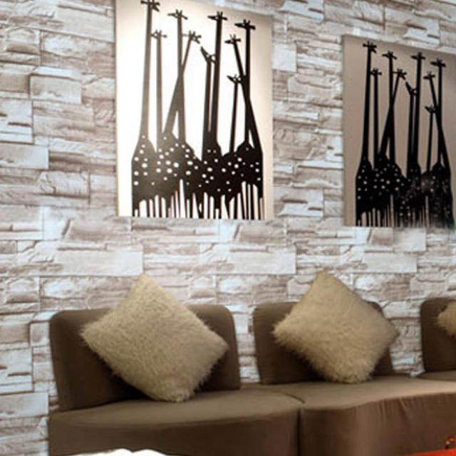 Us 1999 Symulacja 3d Pcv Kamienia Cegły ściany Wodoodporna Wzór Papieru Samoprzylepna Rolki Tapety Do Salonu Okładzina ścienna Decor 10 M W