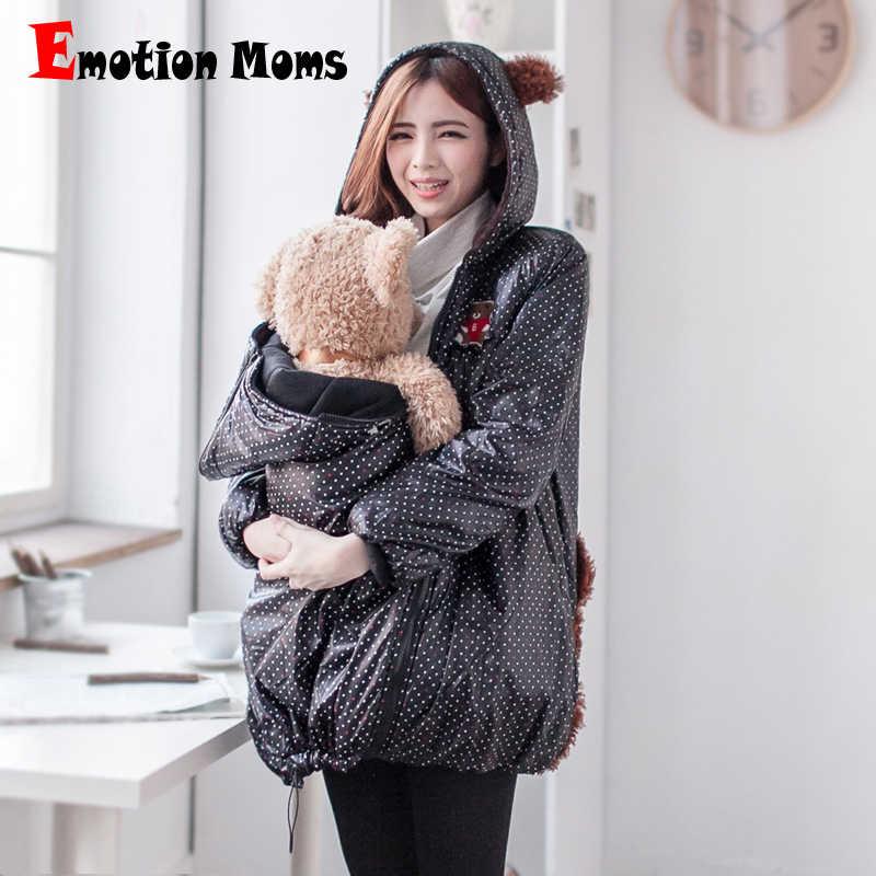 Эмоция мамы зимние теплые плюс размеры ветрозащитный средства ухода за  кожей для будущих мам пальто вержняя 1b37c8cb434