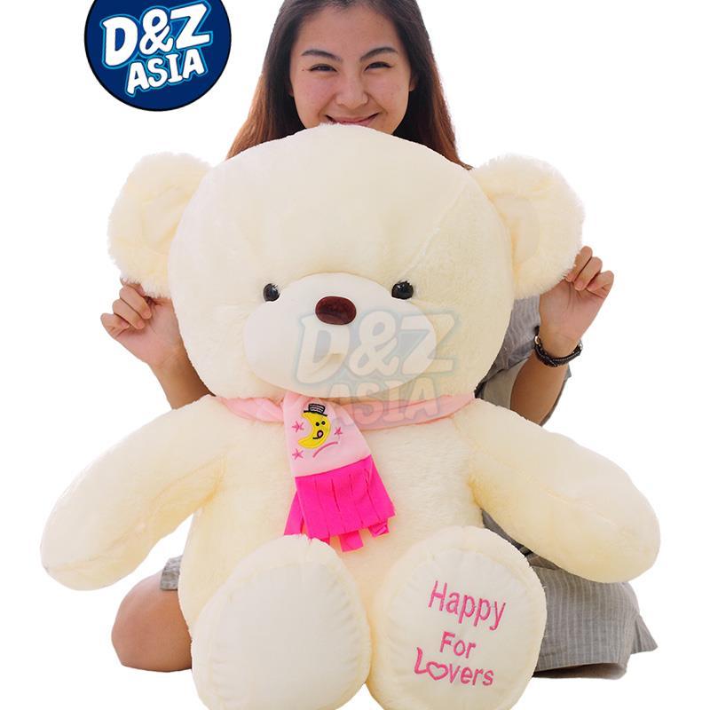 ФОТО Pernycess 5# 1pcs100cm Teddy Bear with scarf dolls wedding birthday gift for kids