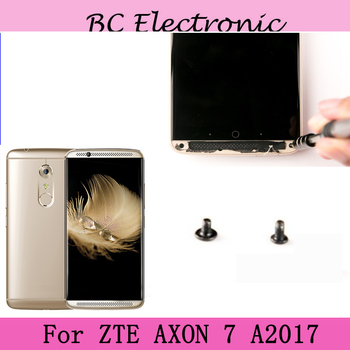 4PCS On back Camera Glass Cover Dock Screws Housing Screw For ZTE AXON 7 AXON7 A2017 A 2017