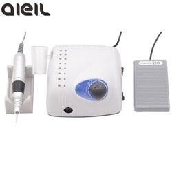 Мощная Электрическая дрель для ногтей 210, 65 Вт, 35000, фрезерный станок для маникюра и педикюра, аппарат для маникюра и педикюра