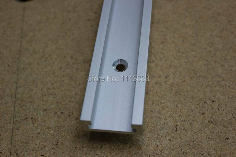 New 400mm 16inch Standard T track Aluminum T track Miter Track Jig Fixture Slot for Router Table Saw in Hand Tool Sets from Tools