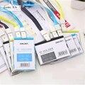 Plastic Horizontal Bank Credit Card Holders 4 Color Women Men Neck Strap Card Bus ID holders Identity badge holder lanyard OEM