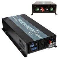 4000W Off Grid Pure Sine Wave Inverter DC12V 24V 48V Pure Sine Wave Inverter For Solar