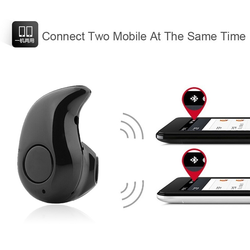 Teyo Mini Wireless Bluetooth Headset Earphones Invisible Music In-Ear Earbuds Casque Audio Head Phone for iPhone Samsung Xiaomi