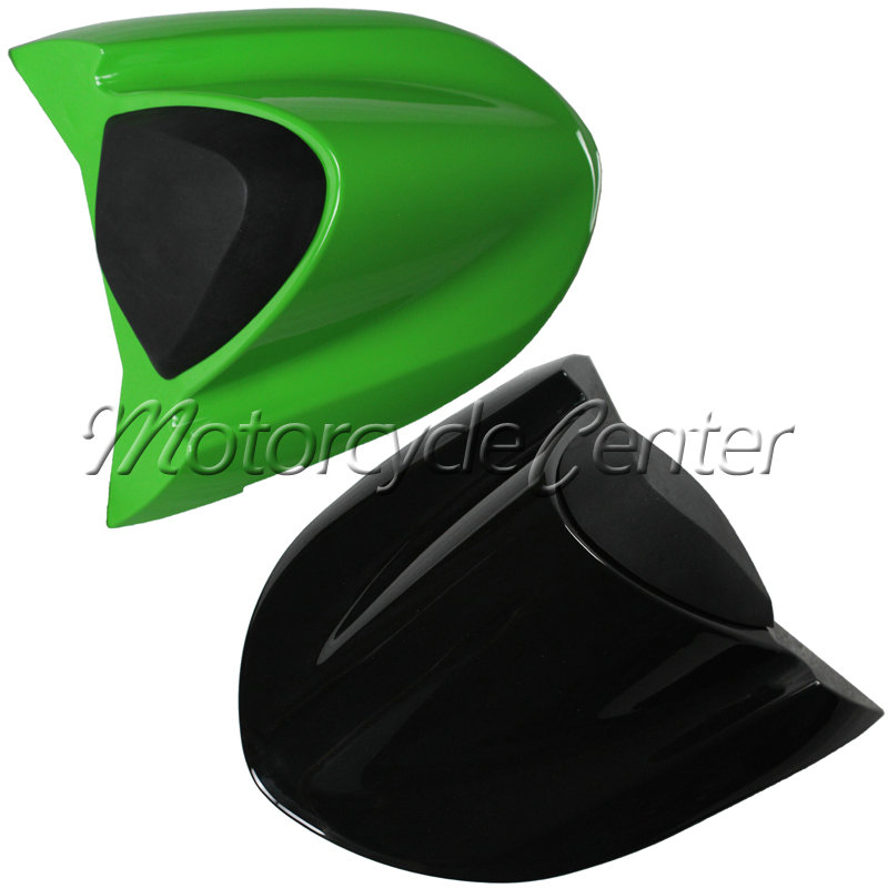 Hot Sale ABS Plastic Motorcycle Rear Seat Cover Cowl For Kawasaki Ninja ZX10R ZX10 R ZX10-R 2004-2005 Black Green hot sale hot sale car seat belts certificate of design patent seat belt for pregnant women care belly belt drive maternity saf