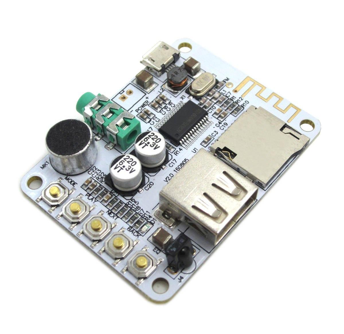 Bluetooth Audio Receiver Board /AUX Car Audio Modification / Lossless Bluetooth Receiver /MP3 Decoder Board