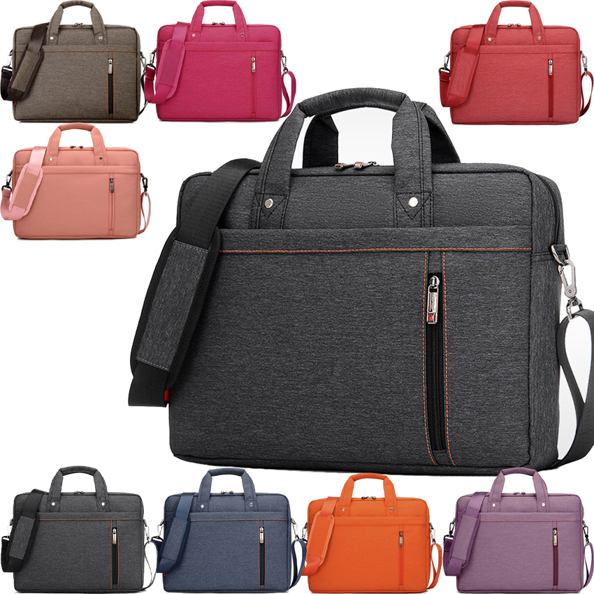 Burnur 12 13 14 15 15.6 17 17.3 Inch Waterproof Computer <font><b>Laptop</b></font> Notebook Tablet Bag Bags Case Messenger Shoulder for Men Women