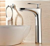 New Arrival Bathroom Faucet Luxury High Quality Chrome Finished Cold And Hot Bathroom Sink Faucet Basin