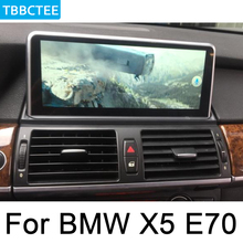 For BMW X5 E70 2011~2013 CIC Car Multimedia player Android Radio GPS Map stereo HD Screen Navigation Navi Media WIFI