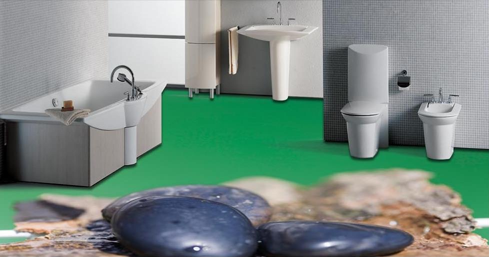 ФОТО customized waterproof 3d flooring vinyl wallpaper Stone water droplets kitchen wallpaper 3d floor murals pvc wallpaper