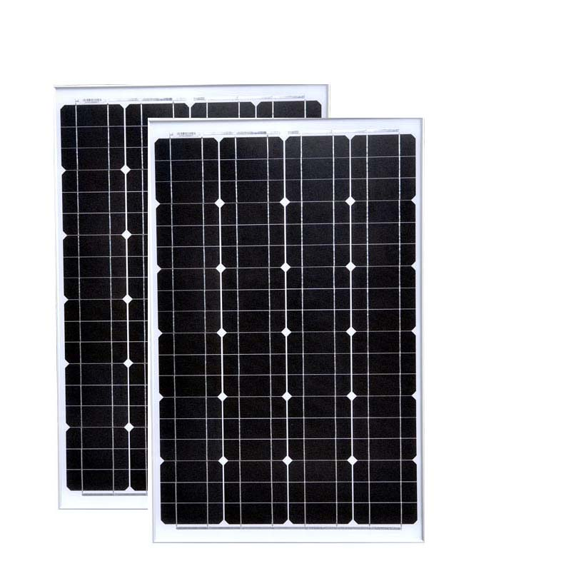 Grade A Caravan Solar Panel 12v 60w 2 PCs Modulos Solares 24 Volt 120 Watt Laptop Solar Charger Battery Car Camping Light LED
