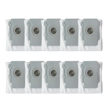 10 Pcs For Irobot Roomba I7 I7+ Plus E5 E6 Robot Vacuum Cleaner Dust Bag Filter Bags Robotic Accessories