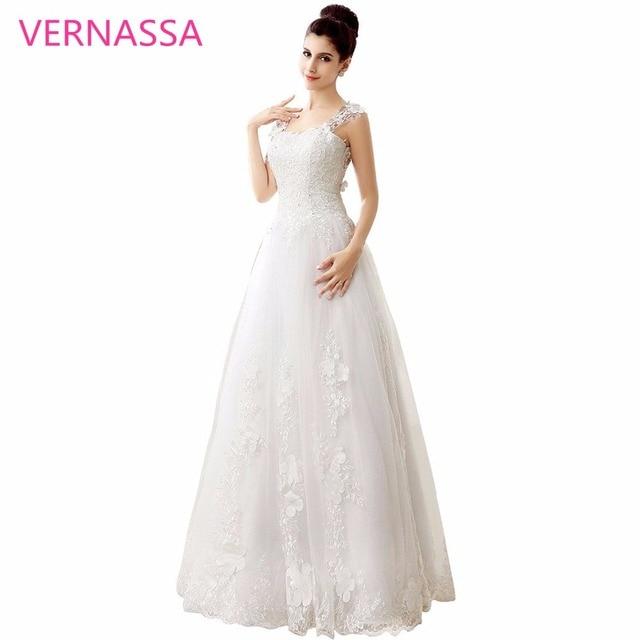 Glamorous A linie Brautkleider Jahrgang Tüll Hochzeitskleid VERNASSA ...