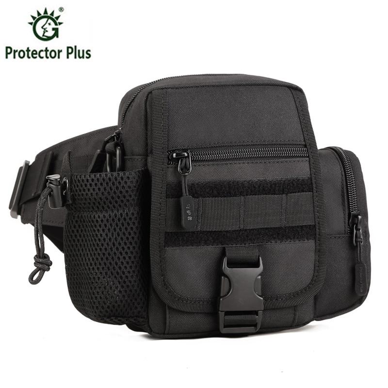 ФОТО Hip Pack Tactics Waist Packs Waterproof Waist Bag Fanny Pack Belt Bag Bumbag Sling Shoulder Messenger Bag