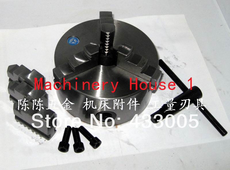 Whole set manual chucks 3 Jaw self-centering chuck K11 200 Jaw Chuck chuck jaw self centering chucks k11 100 chuck jaw cnc machine diy