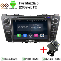 MJDXL 8 HD Octa Core Android 6 0 Car DVD Player For Mazda5 Mazda 5 2009