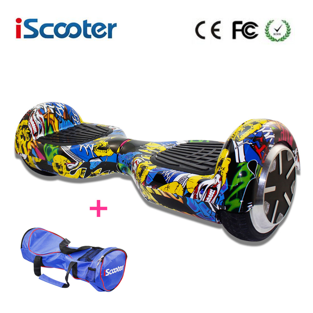iscooter 7inch hoverboard 2wheel self balance electric. Black Bedroom Furniture Sets. Home Design Ideas