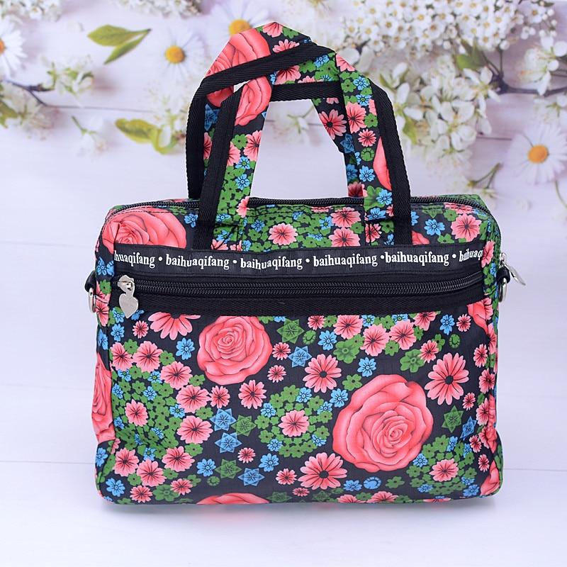 Travel Luggage Duffle Bag Lightweight Portable Handbag Dandelion Floral Pattern Large Capacity Waterproof Foldable Storage Tote