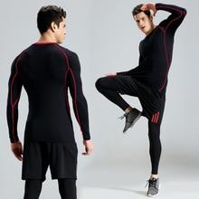 3PCS Men Sportswear Sweatsuits Elastic Leggings Tights Sweatshirt+sweatpants+short Running Jogger Fitness Gym yoga Set Tracksuit