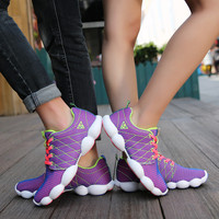 2016 New Running Shoes Lovers Spring Summer Air Mesh Men Women Sneakers Boys And Girls Sports