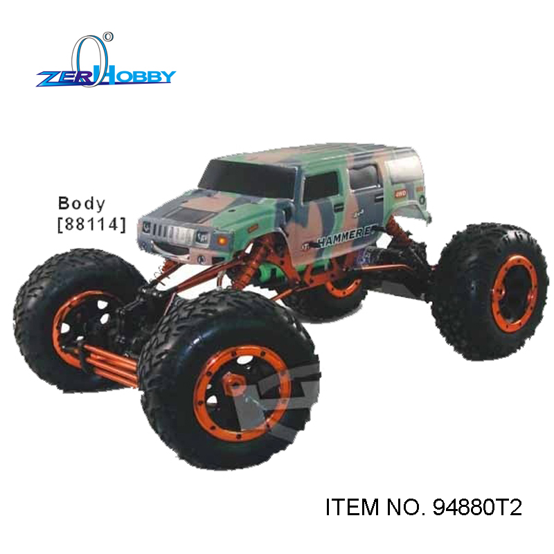 HSP RACING 1/8 SCALE 94880T2 ELECTRIC POWERED CLIMBER 4X4 OFF ROAD DUAL RC540 SIZE MOTOR ROCK CRAWLER 2.4G RADIO READY TO RUN кастрюля bekker bk 5313