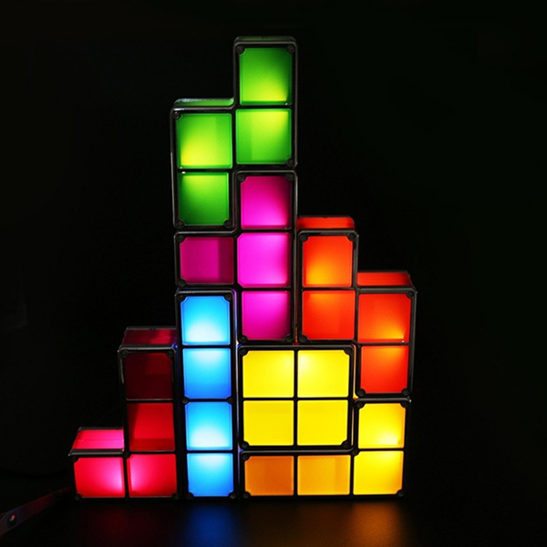 Novelty Items Led Lights For Kids Stimulate Imagine Russian Cube Colorful Decorative Light Dc5v 500ma Diy Small In Lighting From