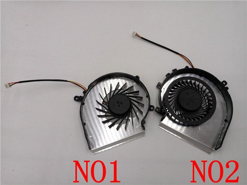 OEM-CPU EN GPU Koelventilator voor MSI GE72 GE62 PE60 PE70 GL62 GL72 - Computer componenten - Foto 2