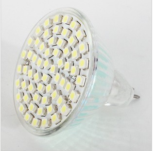 10x 3.5W  MR16 LED 3528 60 SMD Pure/ Warm White LED High Power Spot Light