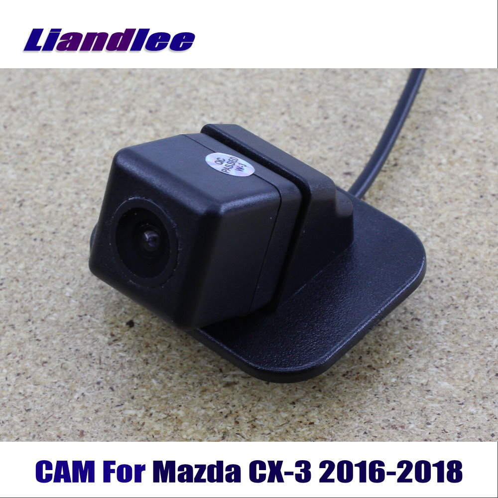 Liandlee CAM Car Rearview Reverse Reversing Parking Camera For Mazda CX 3 CX3 2016 2018 / Back Camera HD CCD Night Vision