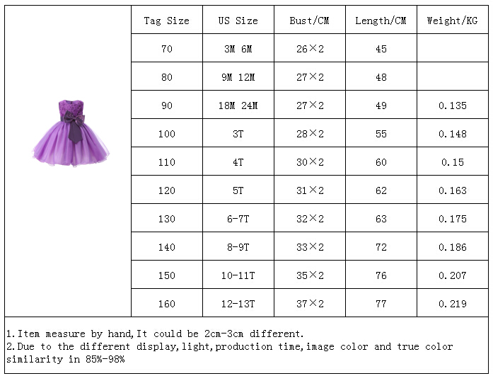 O-neck Sleeveless Bow Floral Waist Princess Flower Girl Party Dress