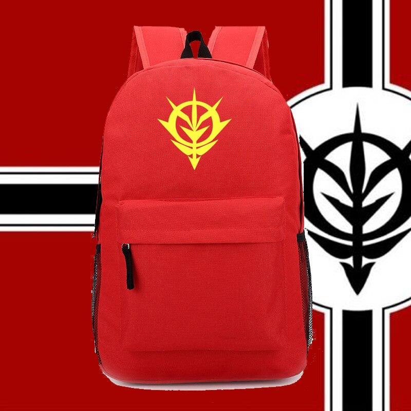 New Gundam Anime Fans Backpack Zion Backpacks For Anime Fans Nylon Backpack Ab226