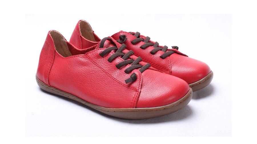 (35-42)Women Shoes Flat 100% Authentic Leather Plain toe Lace up Ladies Shoes Flats Woman Moccasins Female Footwear (5188-6) (35-42)Women Shoes Flat 100% Authentic Leather Plain toe Lace up Ladies Shoes Flats Woman Moccasins Female Footwear (5188-6) HTB1XfiVSXXXXXamaFXXq6xXFXXXF