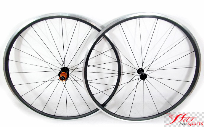 Farsports FSC-24-CA, ED HUB Alu- Carbon 24mm 20.5mm Alloy / Aluminum carbon bike wheels 700c, Shallow profile 24 bike rims wheel farsports fsc88 cm 23 ed hub bike clincher carbon wheels 88mm 23mm for road bicycle 88 high profile clincher wheel rims