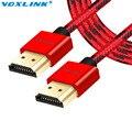 VOXLINK 3D 1080 P 4 К HDMI V1.4 Кабель 1 М 2 М 3 М Высокой Скорости между мужчинами Кабель HDMI для PS3 проектор HD LCD Apple TV компьютер
