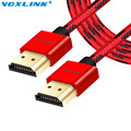 VOXLINK 3D 1080 P 4 K HDMI V1.4 Cable 1 M 2 M 3 M de Alta Velocidad macho a macho cable de hdmi para ps3 proyector hd lcd apple tv equipo