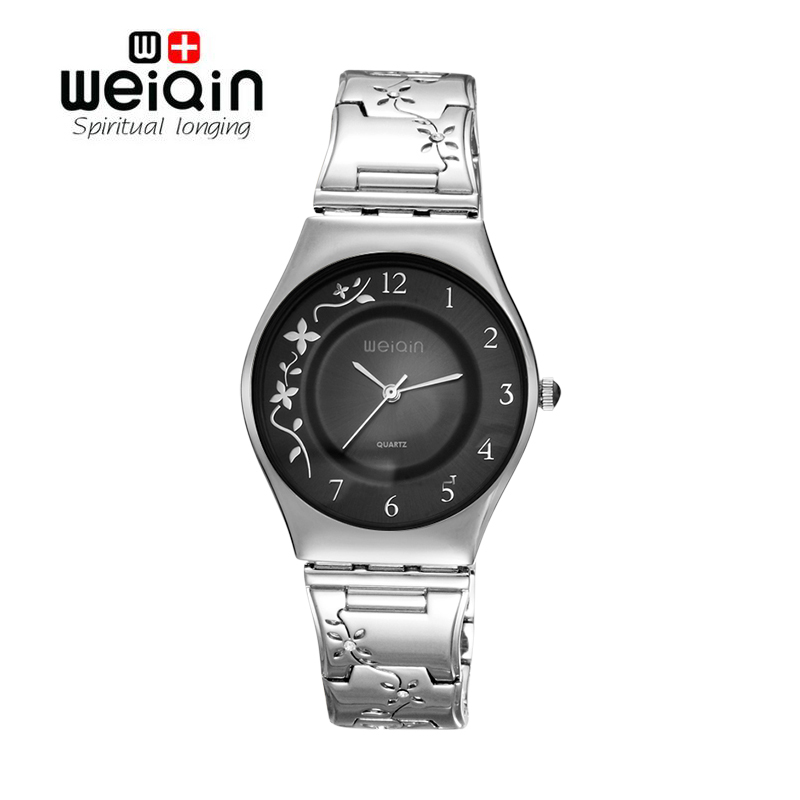 WEIQIN Angel Silver Women Watches Luxury High Quality Water Resistant Montre Femme Stainless Steel 2017 Dress