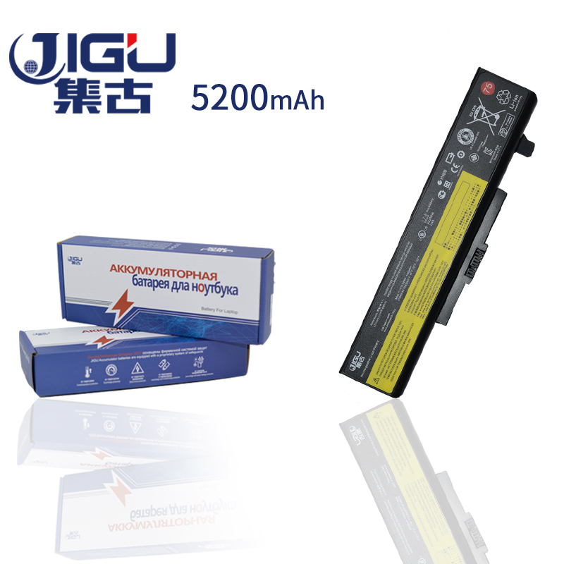JIGU 5200mah 6Cells Laptop Battery L11S6Y01 For Lenovo Y485N Y580N Y580P Y485P Y480P Y480N Y485 Y480 G480 G580 jigu new battery l11l6y01 l11s6y01 for lenovo y480p y580nt g485a g410 y480a y480 y580 g480 g485g z380 y480m