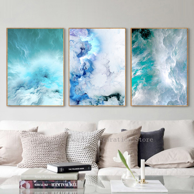 Wall Art Canvas Painting Nordic Poster Abstract Posters And Prints