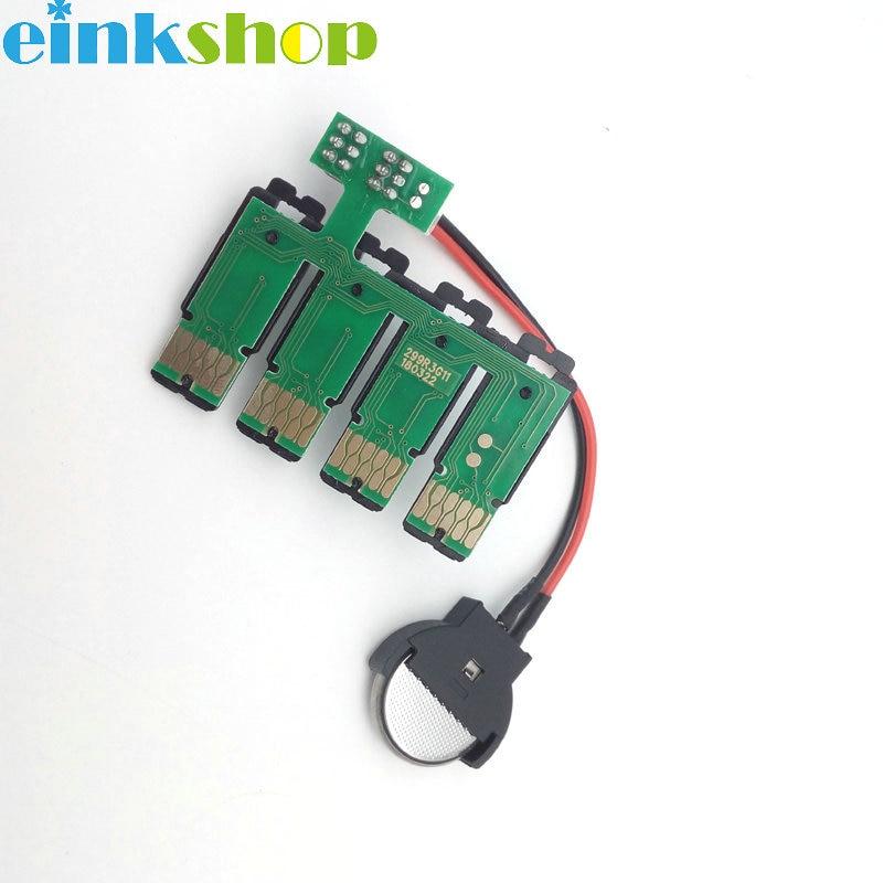 Einkshop T299 T2991 CISS Auto Microplaqueta da restauração Para Epson xp-235 xp-247 xp-332 xp-335 xp-342 xp-345 xp-432 T2991 xp-435 445 chip de arco