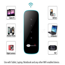 Thin Mini 3G Wireless Router WIFI Router with SIM Card Slot Wireless Internet Access Use With PSP Mobile Phone Laptop PC MP3/4