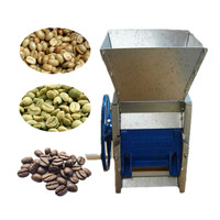 Fresh coffee bean peeling processing machine coffee husk huller
