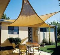 5 5x5 м HDPE треугольный тент парус шифрует толстый открытый солнцезащитный тент сетка анти УФ тент навес подходит для балкона Сад Двор