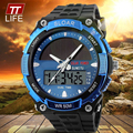 TTLIFE Brand Solar energy Men SportsWatches Outdoor Military LED Watch Fashion Digital Quartz Multifunctional Dress Wristwatches