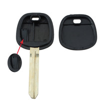 New Transponder Ignition Chip Car Key Uncut for Toyota Camry Rav4 Corolla With 67 Chip