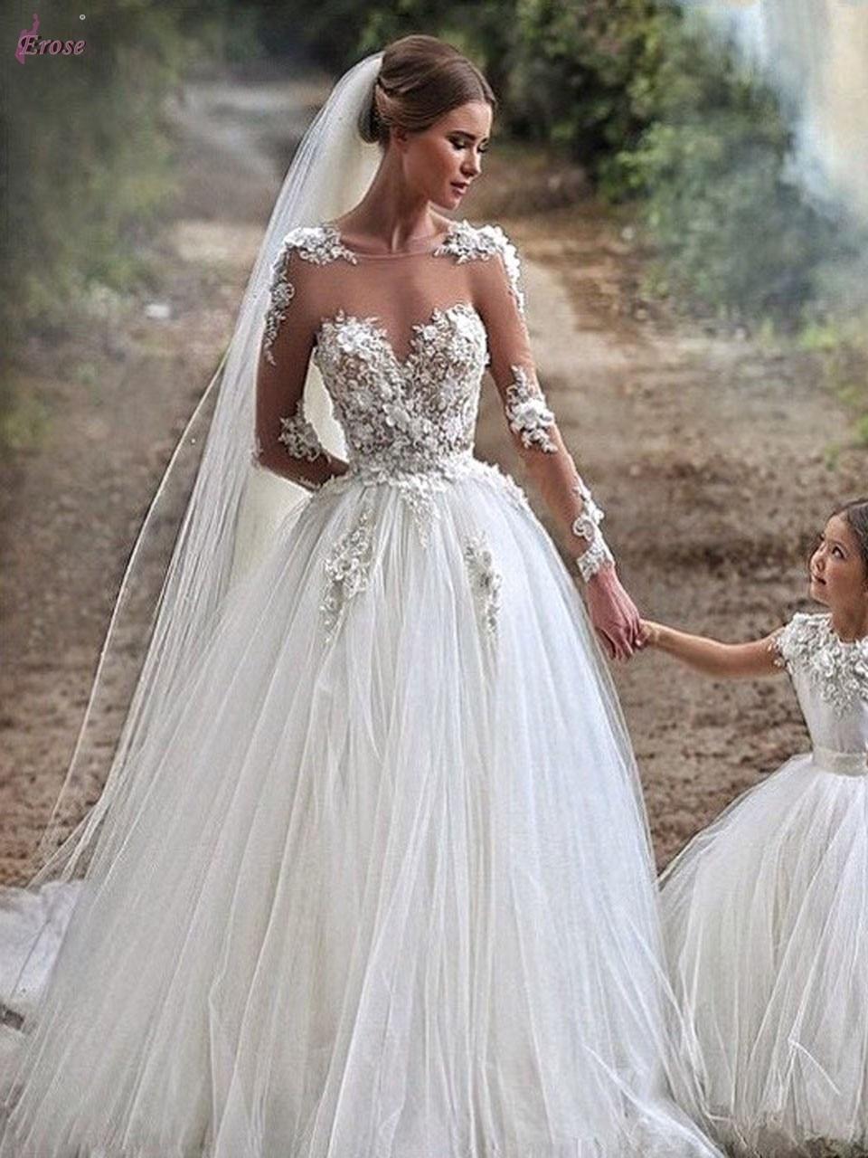 achetez en gros illusion d collet de mariage robes en